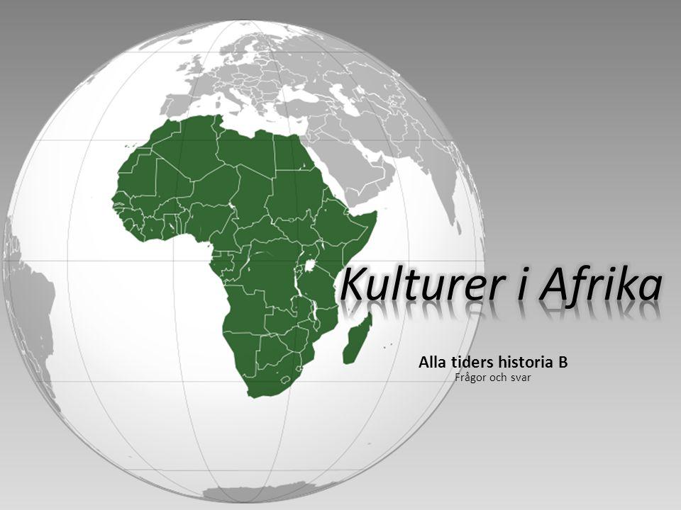 Innehållsförteckning 1/2 Frågor och uppgifter s 315 1.Vilka var de första som grundade städer söder om Sahara, och under vilken tid bestod deras rike.