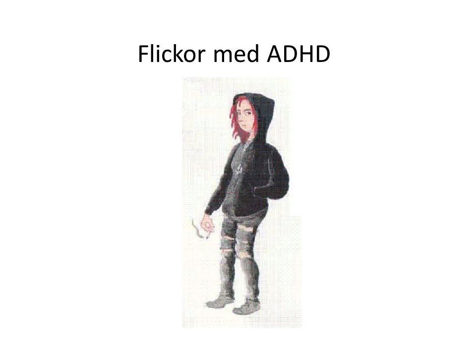 9 ADHD Flickor med ADHD