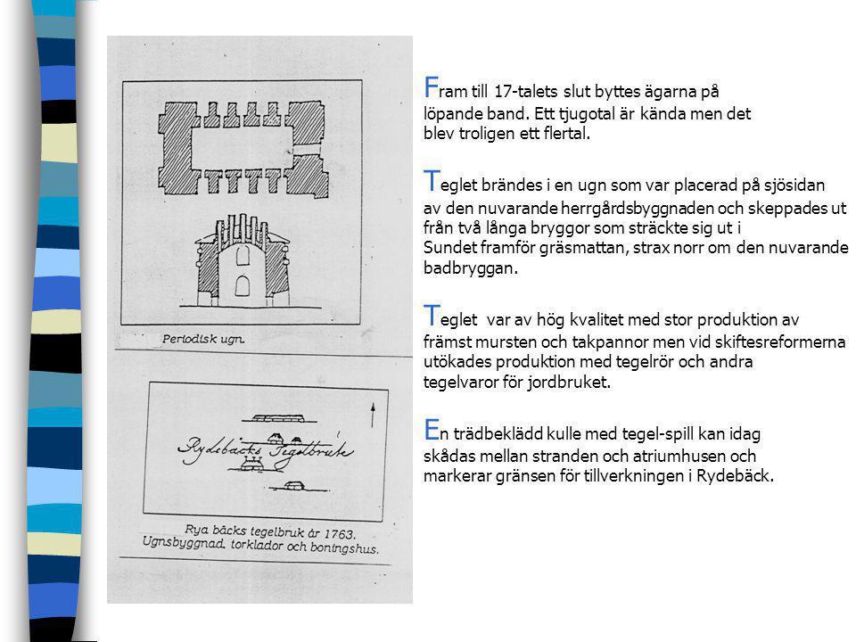 """H är är ett brev daterat 1622 till holländaren Johan van der Enden och Frantz Bastian, att upprätta ett tegelbruk i Rybeck- att de """"må sätta upp en te"""