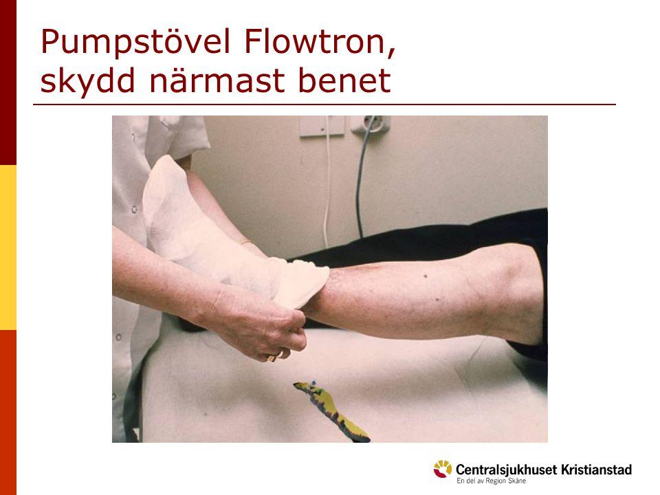 Pumpstövel Flowtron, skydd närmast benet