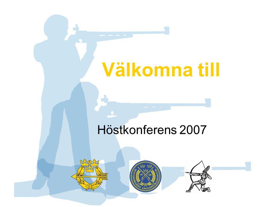 Välkomna till Höstkonferens 2007