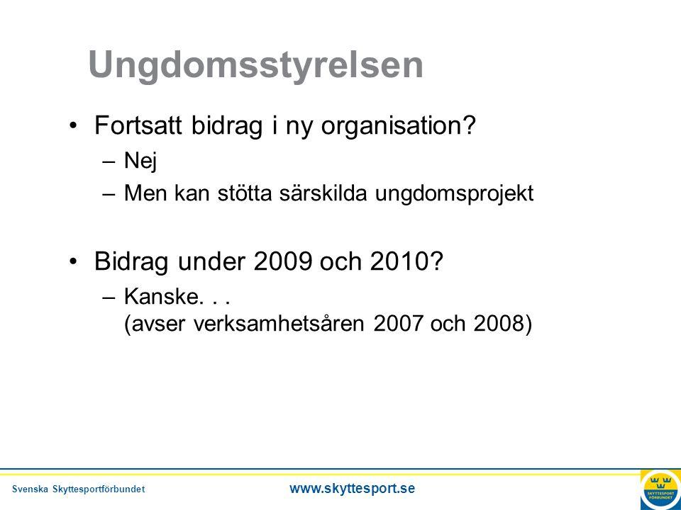 Svenska Skyttesportförbundet www.skyttesport.se Ungdomskonferensen Skittråkiga årsmöten Vi har glömt hur man har roligt Inga råtthål som skyttelokaler