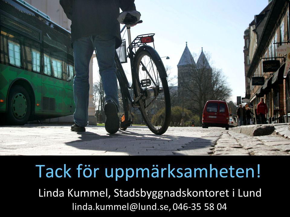 38 Tack för uppmärksamheten! Linda Kummel, Stadsbyggnadskontoret i Lund linda.kummel@lund.se, 046-35 58 04