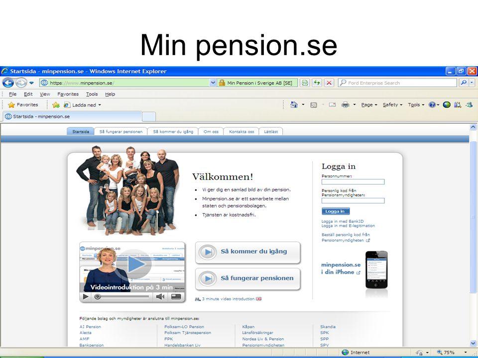 Min pension.se