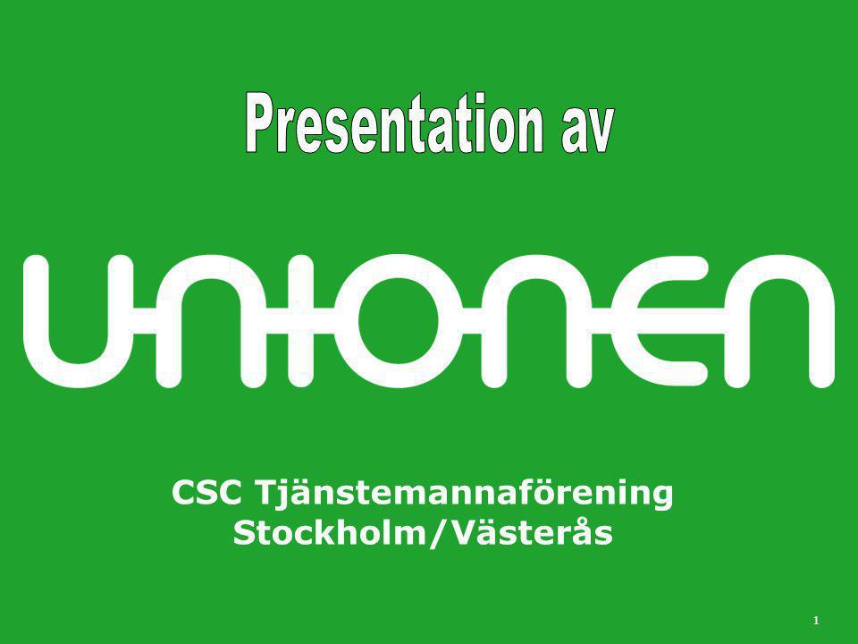 CSC Tjänstemannaförening Stockholm/Västerås 1