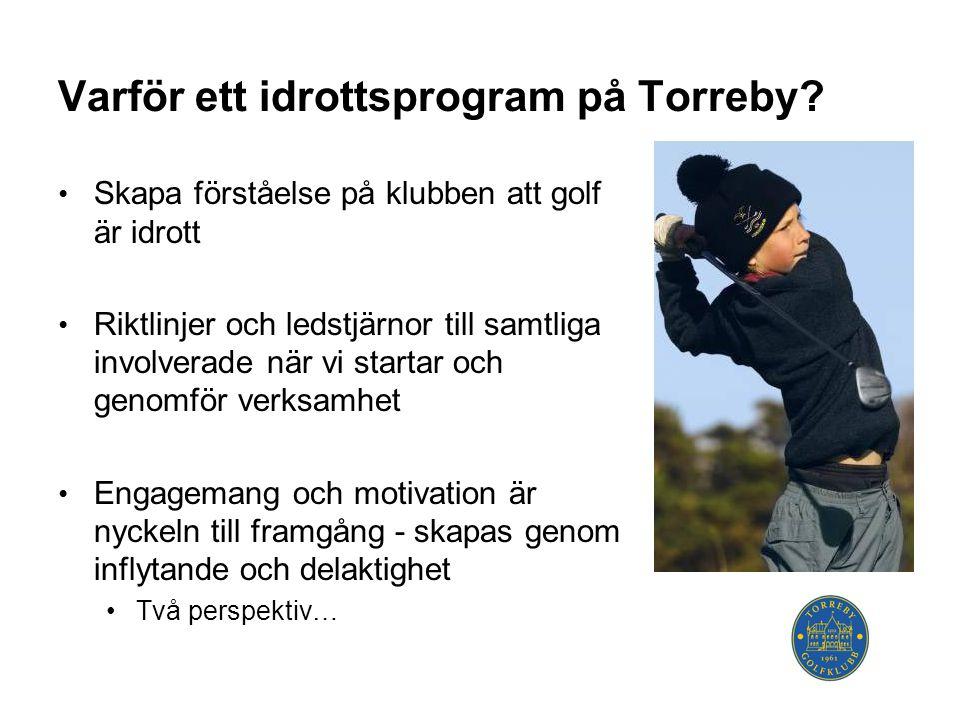 Varför ett idrottsprogram på Torreby.