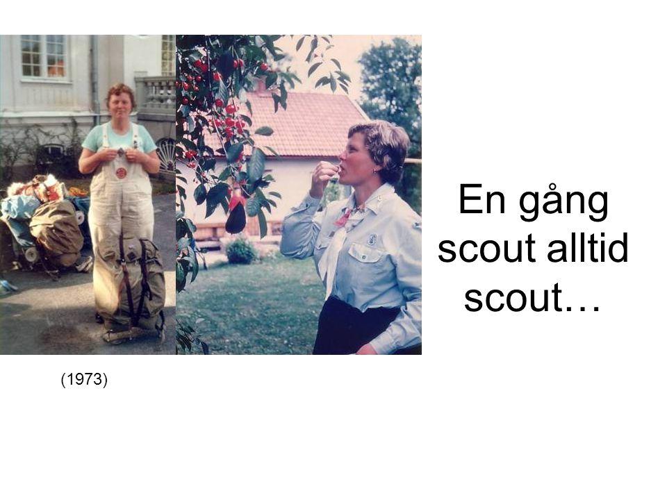 En gång scout alltid scout… (1973)