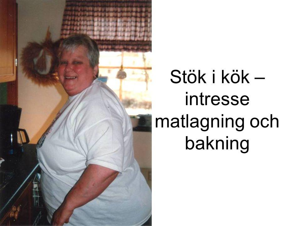 Stök i kök – intresse matlagning och bakning