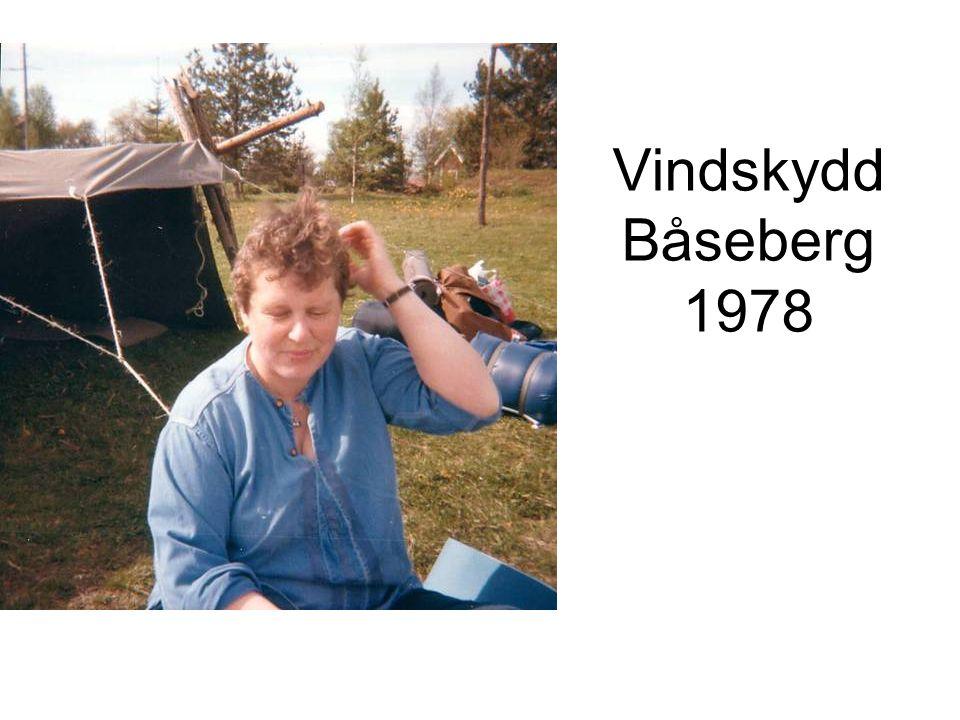 Vindskydd Båseberg 1978