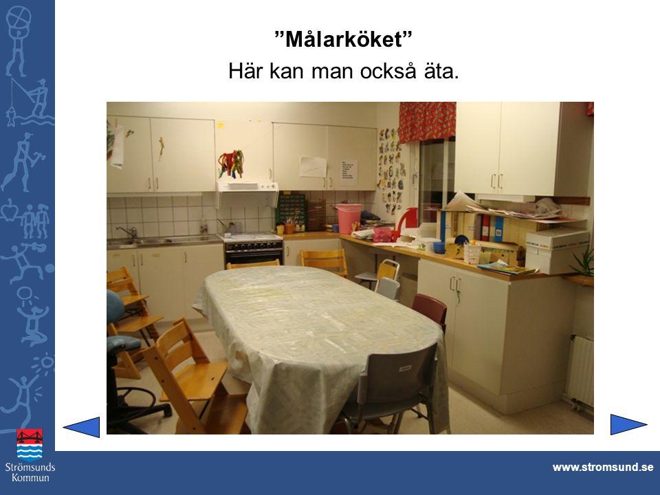 """""""Målarköket"""" Här kan man också äta. www.stromsund.se"""