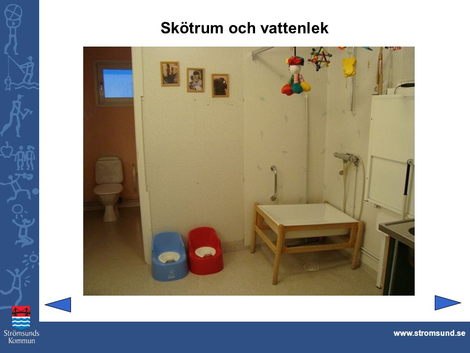 Skötrum och vattenlek www.stromsund.se