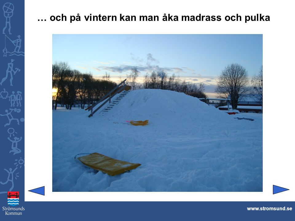 Matrum och myshörna med TV www.stromsund.se