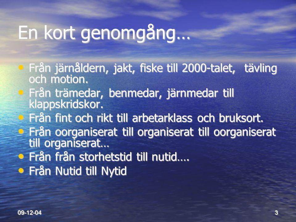 09-12-0414 Svensk Skridsko utvecklas som övriga idrotter via föreningar.
