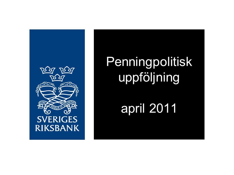 En prognos inte ett löfte Källa: RiksbankenReporänta, procent, kvartalsmedelvärden