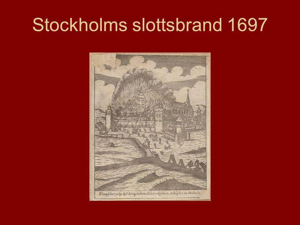 Stockholms slottsbrand 1697