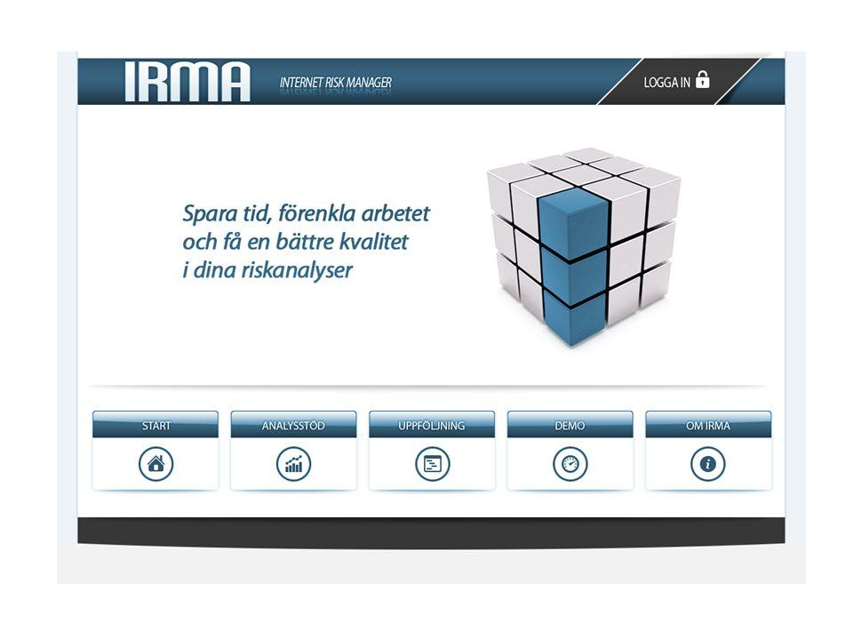 Exempel från IRMA - Låt systemet prata för sig självt.
