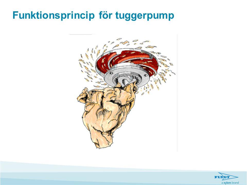 Funktionsprincip för tuggerpump