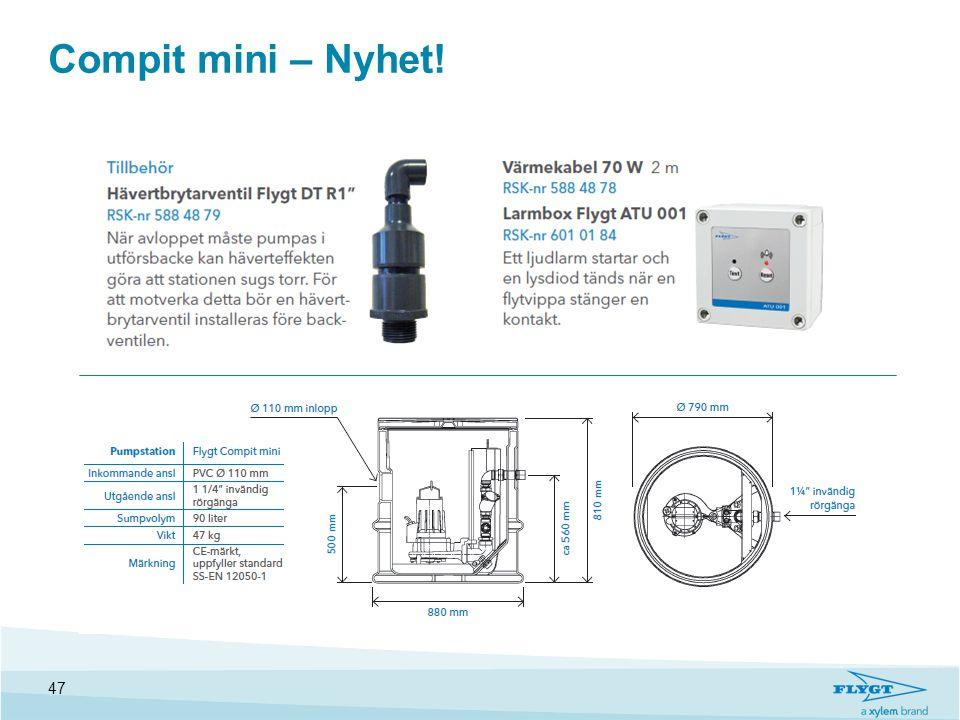 Compit mini – Nyhet! 47