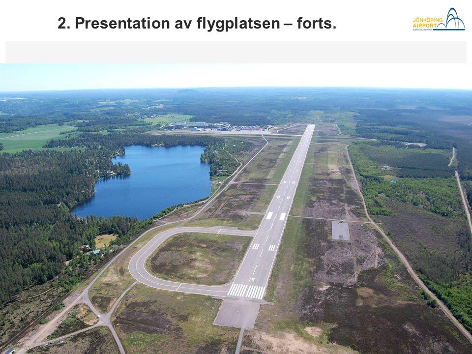 ◄ ► Axamo 50 år 2011 2. Presentation av flygplatsen – forts. 2011-03-15