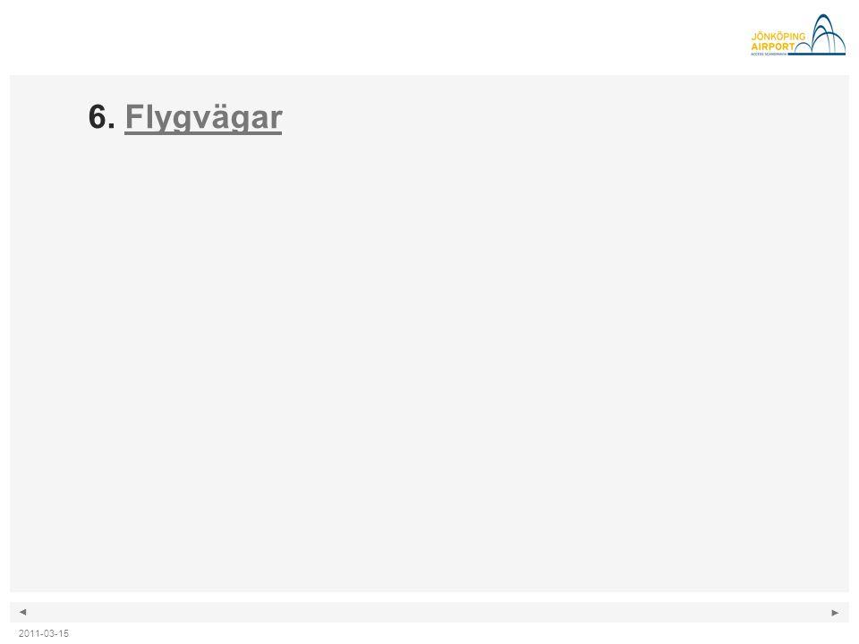 ◄ ► 2011-03-15 6. FlygvägarFlygvägar