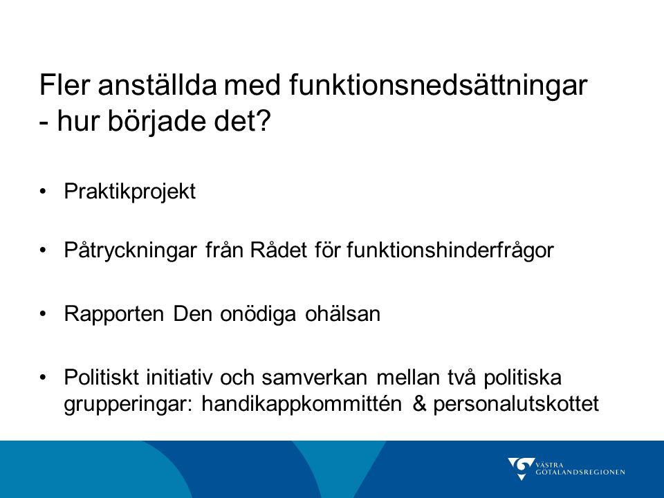 Västra Götalandsregionens ansvar •Uppfylla invånarnas rätt till bästa möjliga hälsa •Uppfylla invånarnas rätt till arbete Rättighetskommitténs kansli
