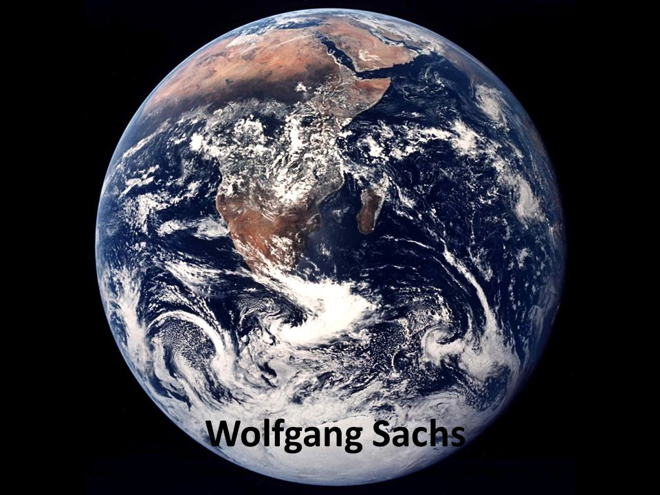 Wolfgang Sachs