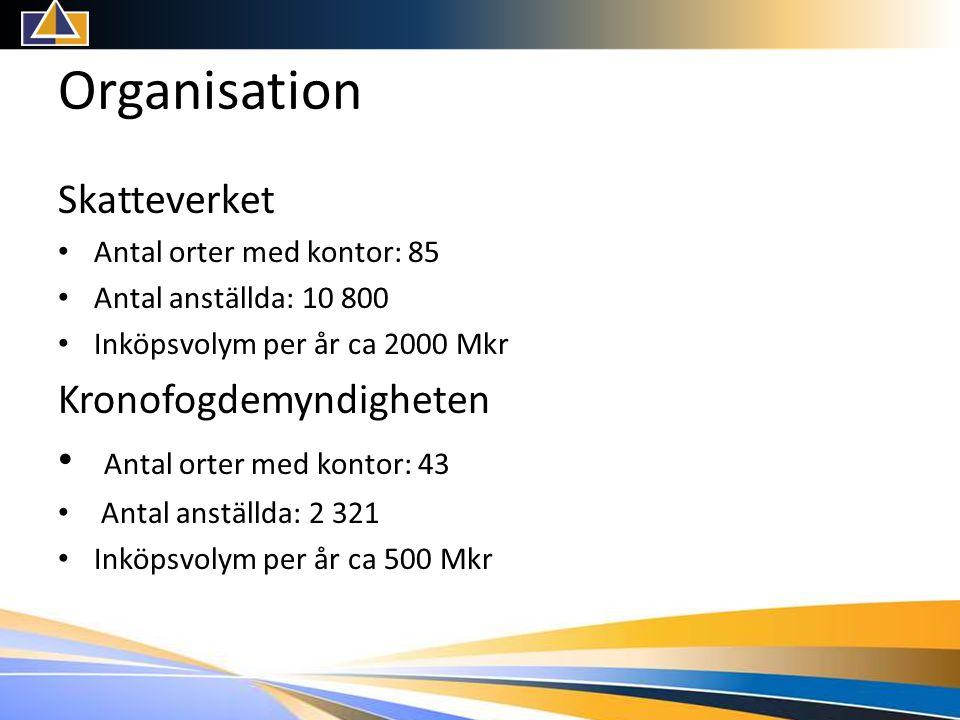 Organisation Skatteverket