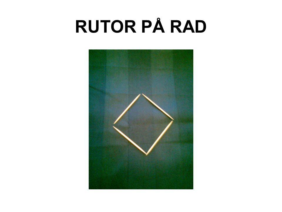 RUTOR PÅ RAD