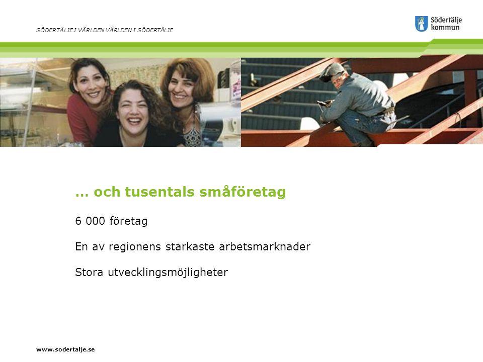 www.sodertalje.se SÖDERTÄLJE I VÄRLDEN VÄRLDEN I SÖDERTÄLJE Ett myllrande kulturliv Fem kulturhus Teater och musik i världsklass Livaktiga kulturföreningar Mat i världsklass