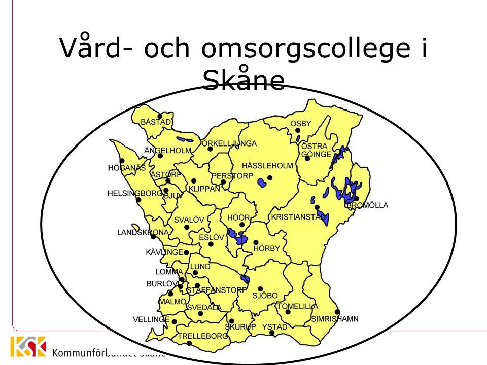 Vård- och omsorgscollege i Skåne