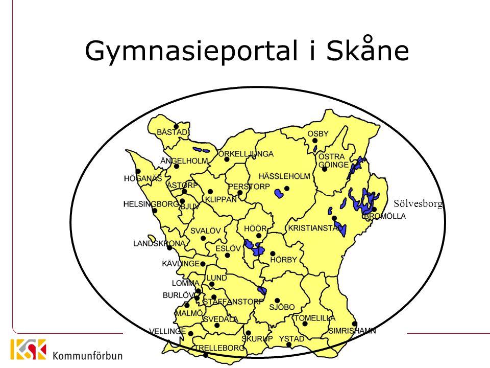 Gemensamt intagnings- system i Skåne Sölvesborg