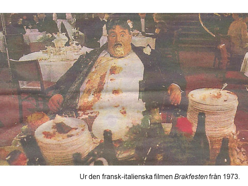 5 © E Gummesson 2006 Ur den fransk-italienska filmen Brakfesten från 1973.