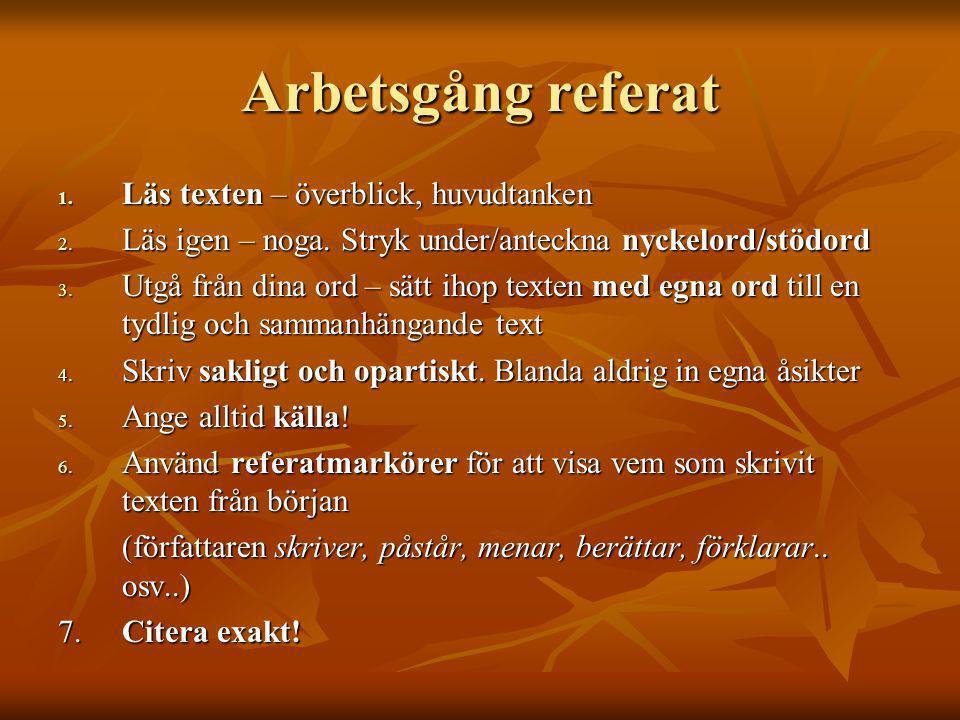 Exempel på referat Originaltext En ny jämlikhetsfråga börjar dyka upp i den politiska debatten: ska Sverige ha kvinnlig värnplikt.