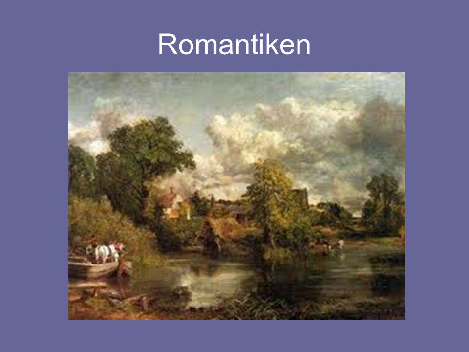 Bakgrund Romantiken •Orolig tidsålder- slutet av 1700-tal, pågick till ca mitten av 1800-talet •En reaktion MOT Upplysningens förnuft och samhällsnytta •Behov av att fly verkligheten