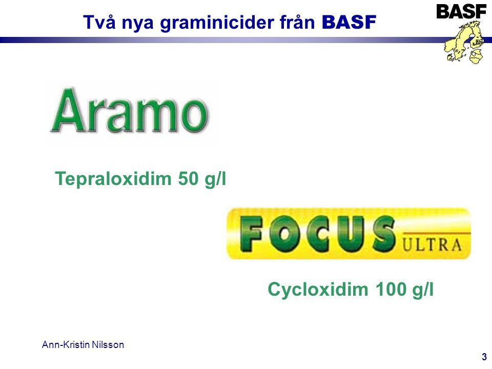 Ann-Kristin Nilsson 14 Rekommendationer Mot flyghavre (Avena fatua) spillsäd (volunteer cereal), andra ettåriga gräs 1,0-1,5 l Focus Ultra + 0,5 l Dash 1,5-2,0 l Focus Ultra Mot Kvickrot (Agropyron repens) 1,5-2,0 l Focus Ultra + 0,5 l Dash