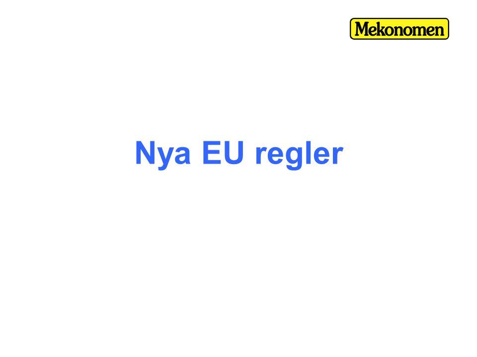 Nya EU regler