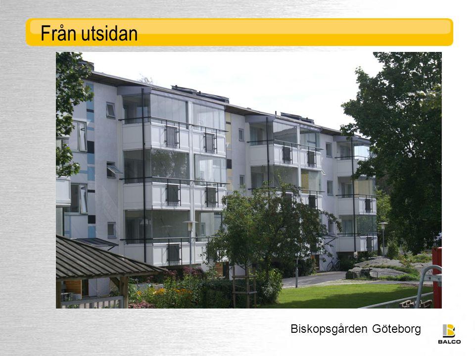 Biskopsgården Göteborg Från utsidan