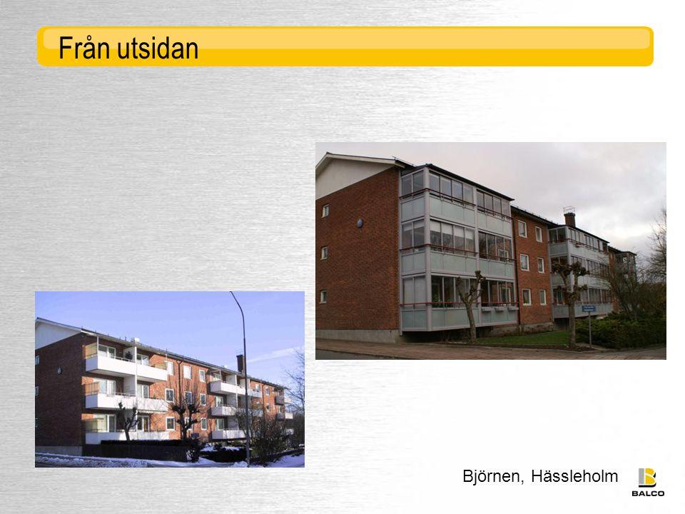 Björnen, Hässleholm Från utsidan