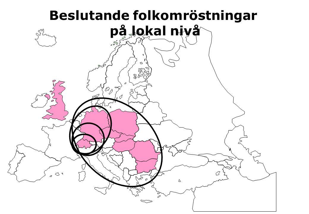 Beslutande folkomröstningar på lokal nivå