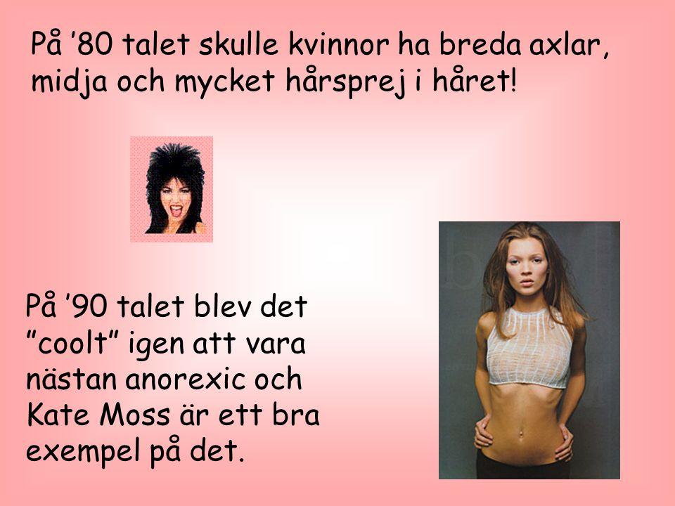 Nu, 2005 har många filmstjärnor sagt nej till anorexia och är nu bara 'fit', ser inte ut som det ska dö i morgon i alla fall.