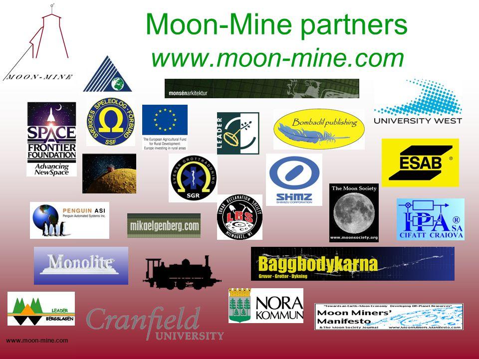 www.moon-mine.com Moon-Mine partners www.moon-mine.com