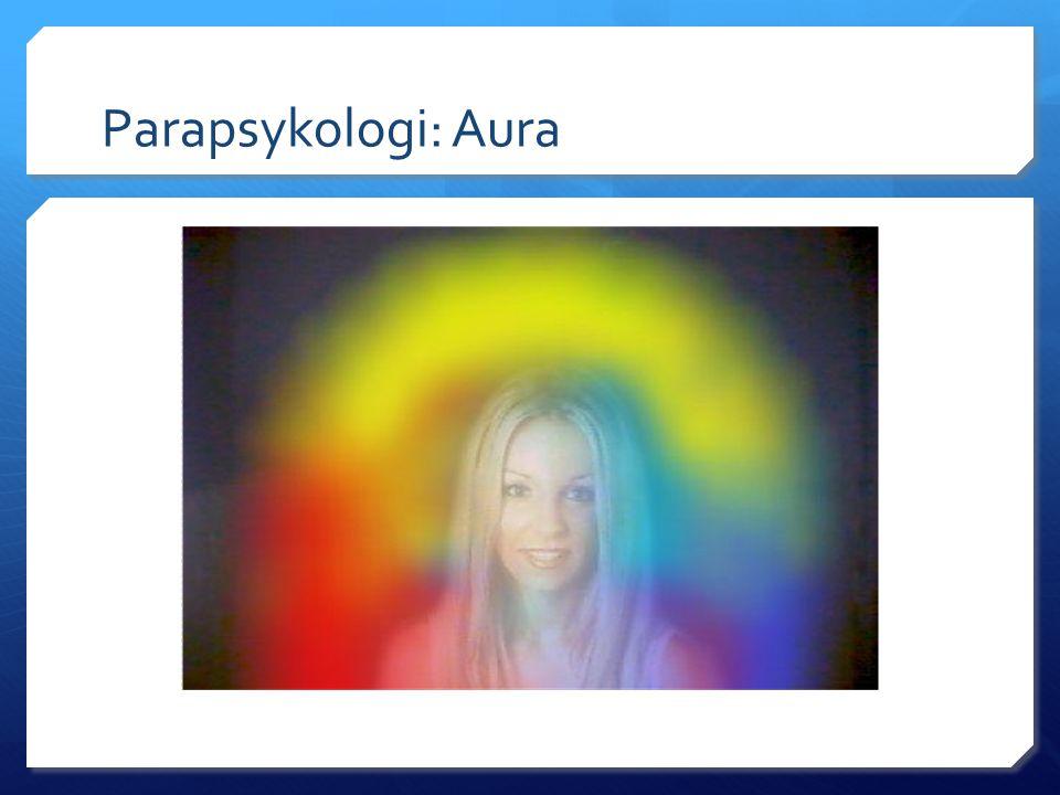 Parapsykologi: Aura
