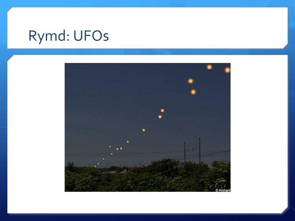 Rymd: UFOs