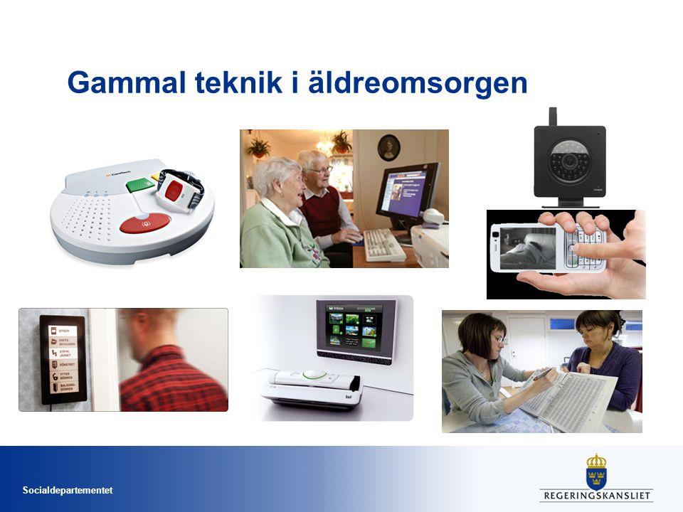 Socialdepartementet Gammal teknik i äldreomsorgen
