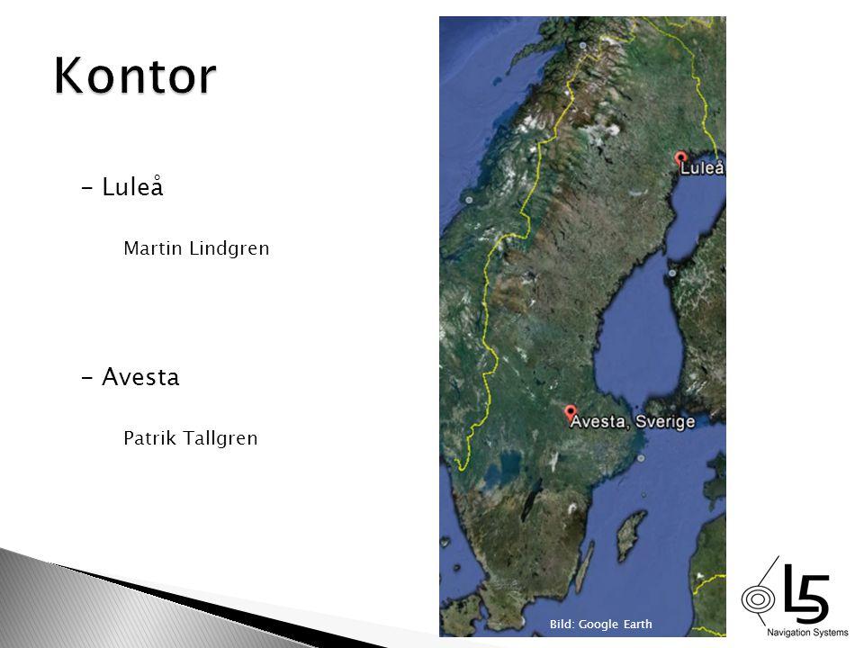 - Luleå Martin Lindgren - Avesta Patrik Tallgren Bild: Google Earth