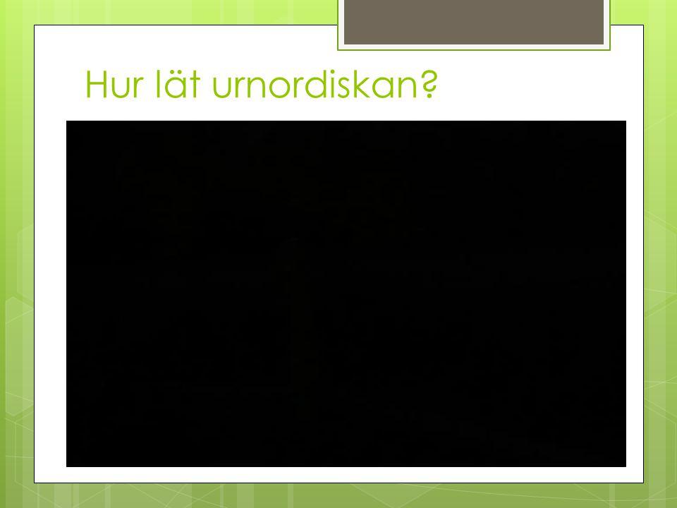 Hur lät urnordiskan?