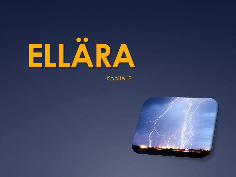  Spänning betecknas med U  Enheten för spänning är volt, V  Spänning mäts med en voltmeter  Ett vanligt ficklampsbatteri har spänningen 1,5 V och ett vägguttag 230 V.