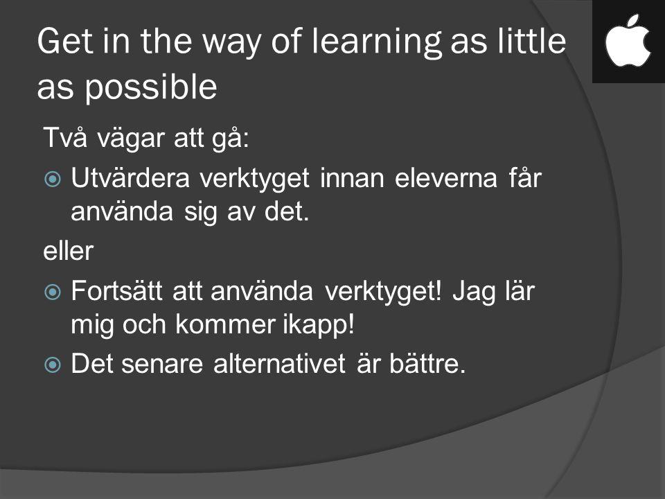 A case studies of true digital learning environment  Inga klassrum  Folk som besöker skolan förvånas av att alla håller på med lärande.