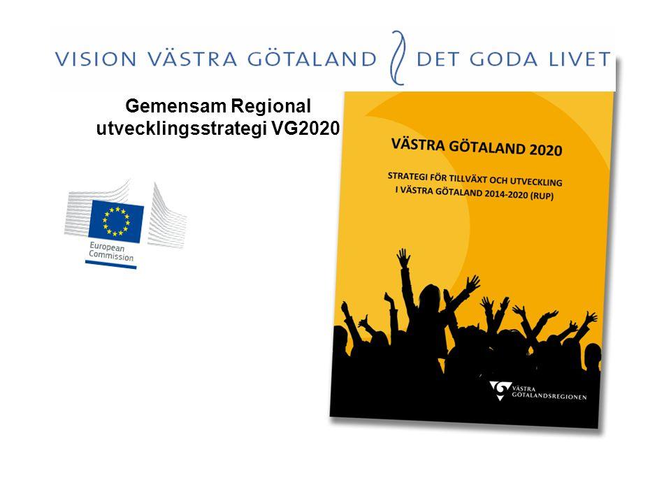 Kompetensplattform Västra Götaland Gemensam Regional utvecklingsstrategi VG2020