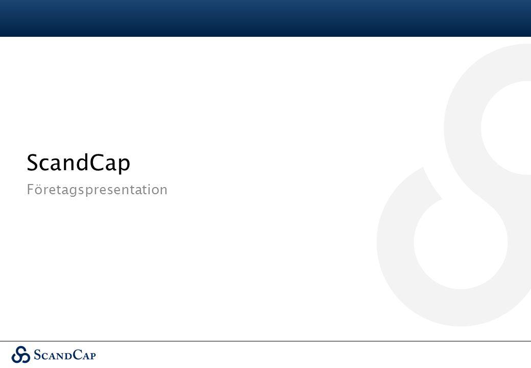 ScandCap Företagspresentation
